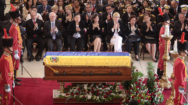 chavez funeral.si
