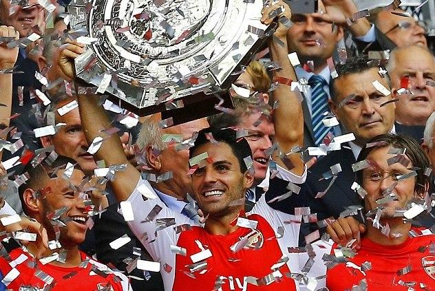 Arsenal s Mikel Arteta C