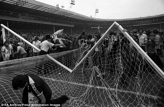 1413369811969 wps 1 A goal post was smashed a