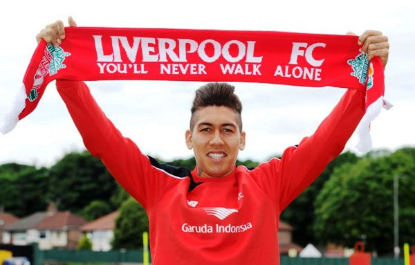 Firmino-on-his-first-day-at-Liverpool-at-Melwood