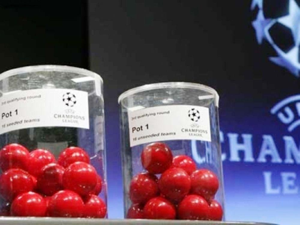 Τα γκρουπ του Champions League