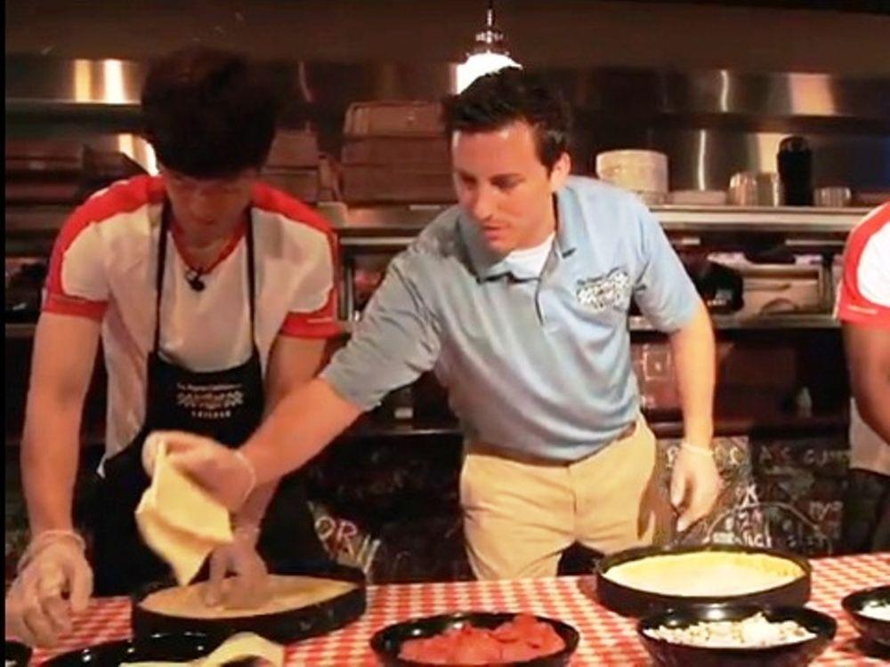 Μαγειρέματα στη Μάντσεστερ