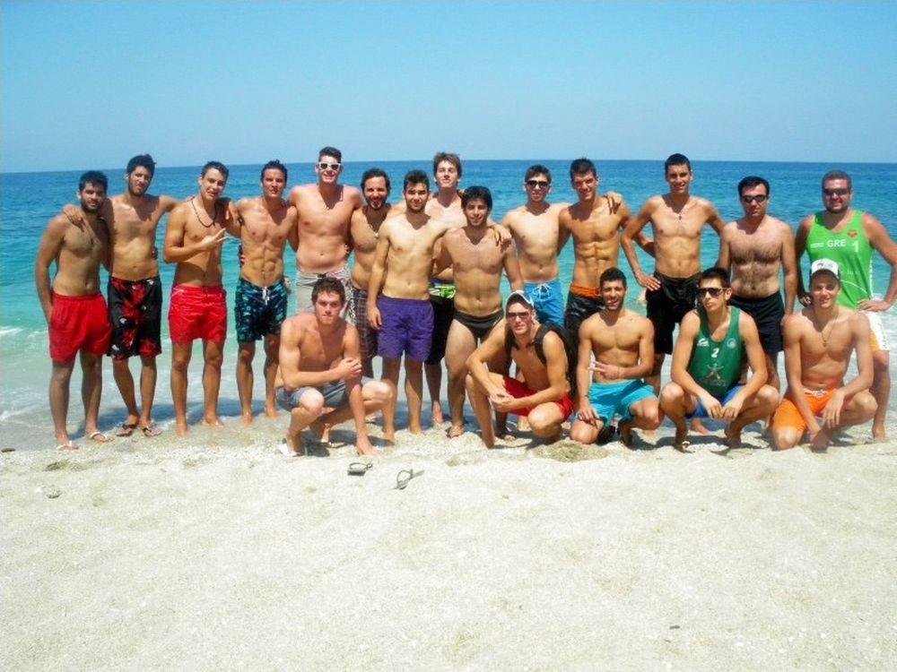«Αυλαία» στο Volleyleague camp