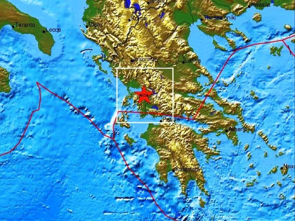 Σεισμός 3,6R στην Αμφιλοχία