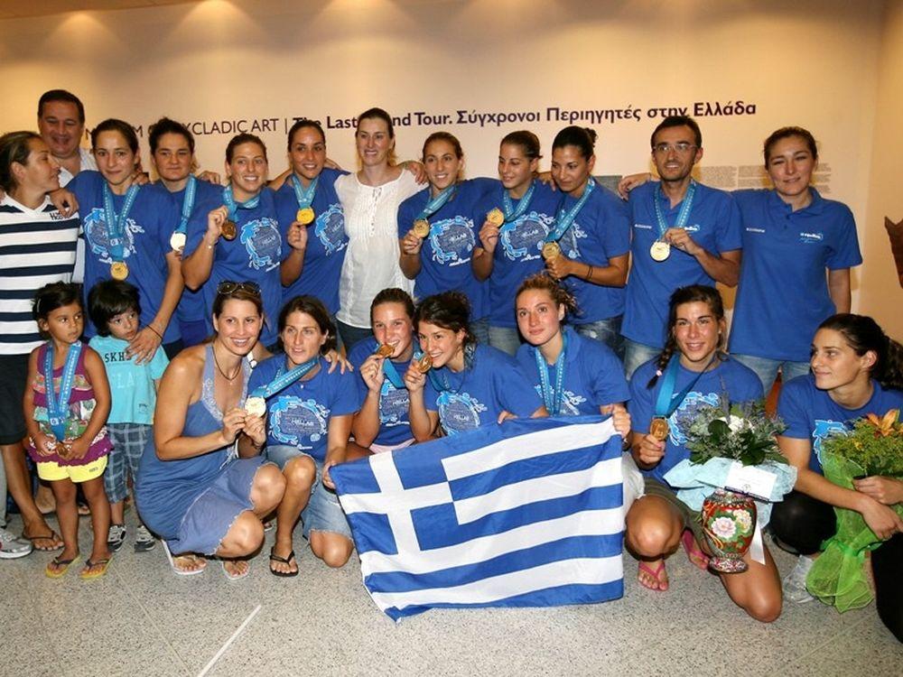 Πάτησαν Ελλάδα οι Παγκόσμιες (photos)