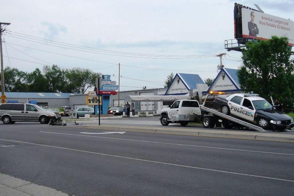 Μεθυσμένος χτυπά μετωπικά με αστυνομικό