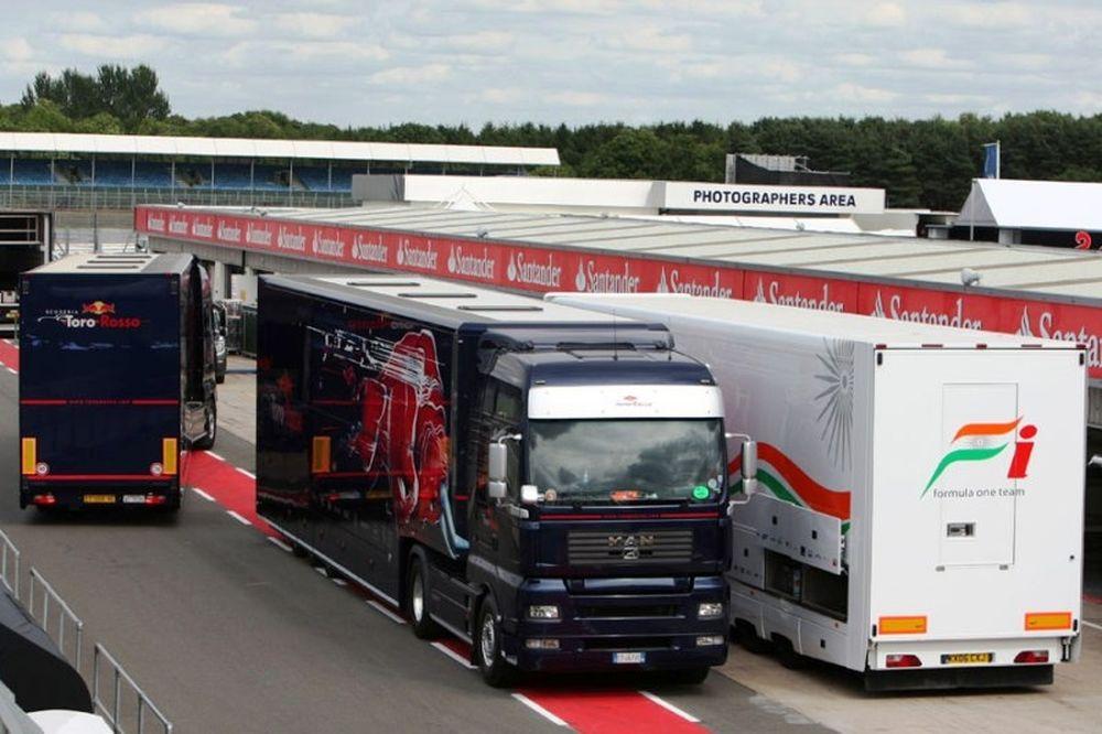 Φορτηγά της Toro Rosso ενεπλάκησαν σε ατύχημα