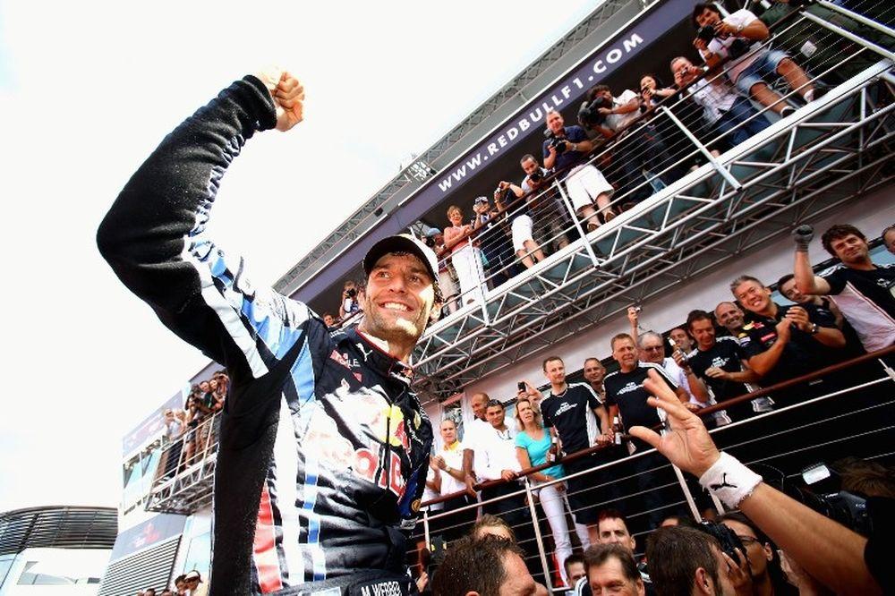Βέμπερ: Στη Red Bull και το 2012
