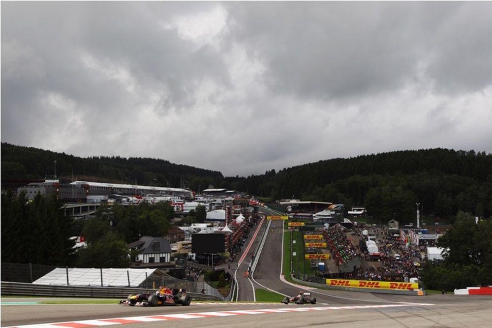 Formula 1 Βέλγιο: Βροχή και σήμερα