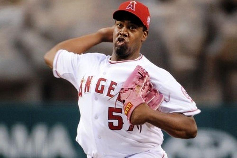 Μάχη pitchers στο Λος Άντζελες
