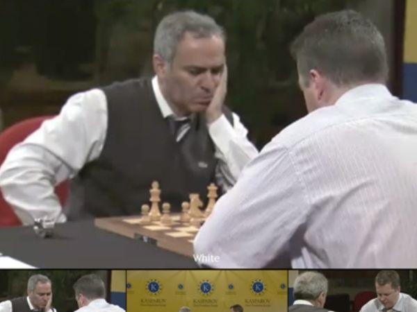 Ο Κασπάροφ κέρδισε τον Σορτ