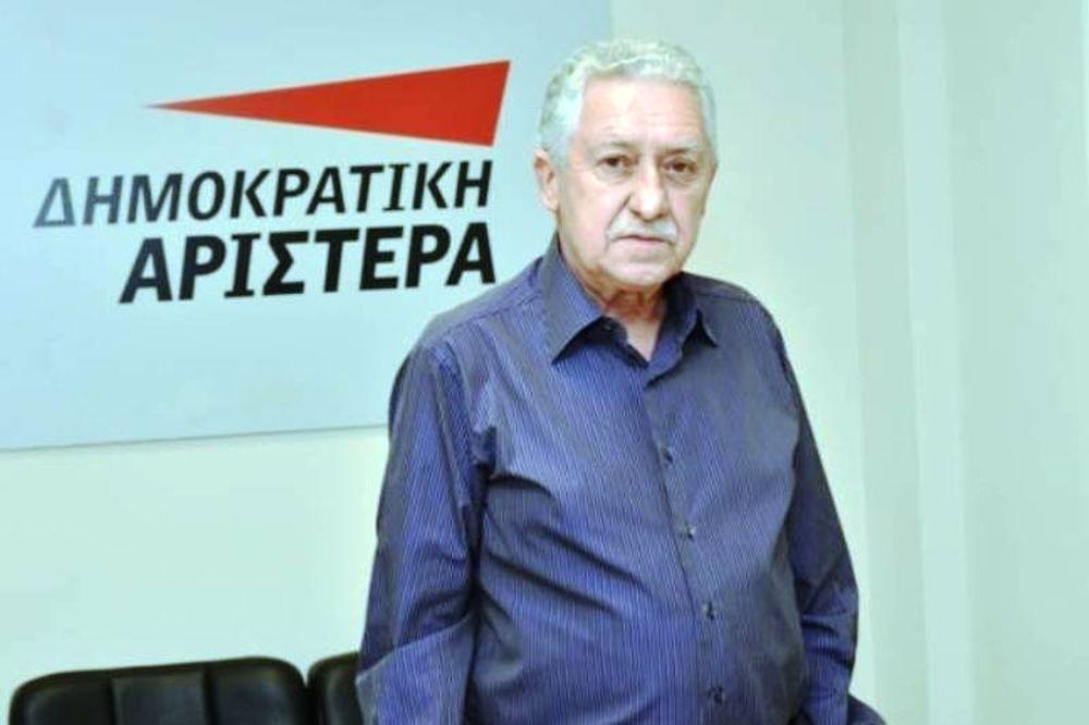 Θετικός σε συνεργασία με το ΠΑΣΟΚ ο Φώτης Κουβέλης