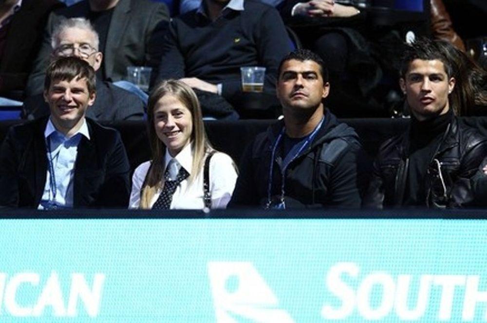 Ο Ρονάλντο στον τελικό του ATP Tour Finals
