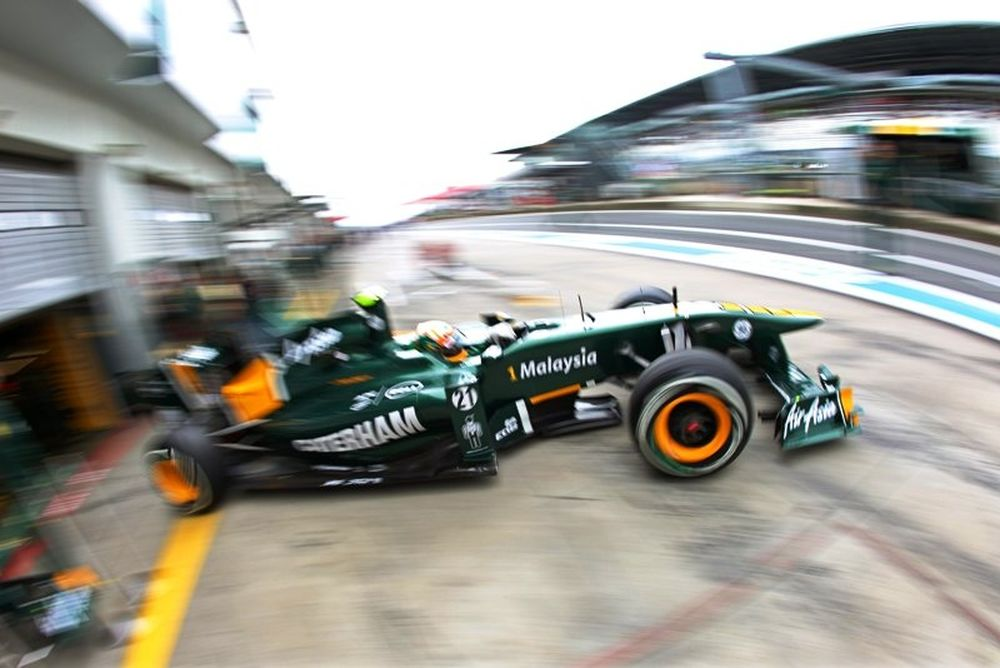 Κοβαλάινεν και Τρούλι ξανά στη Caterham F1 για το 2012