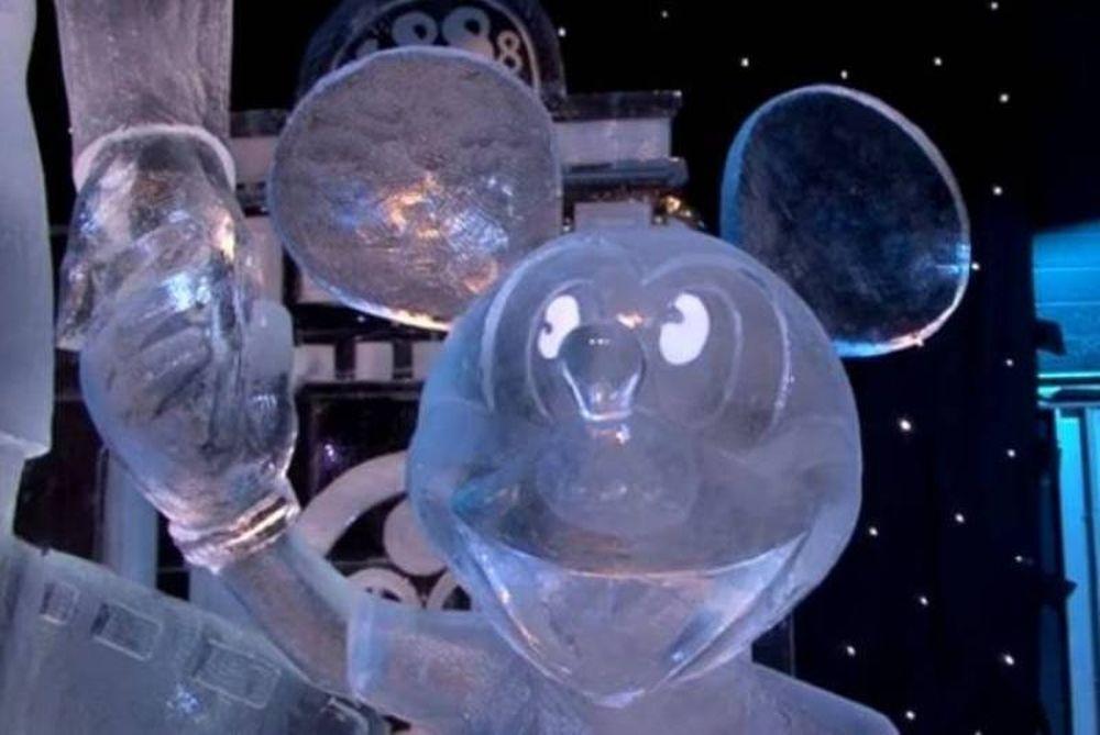Οι ήρωες του Disney φτιαγμένοι από πάγο