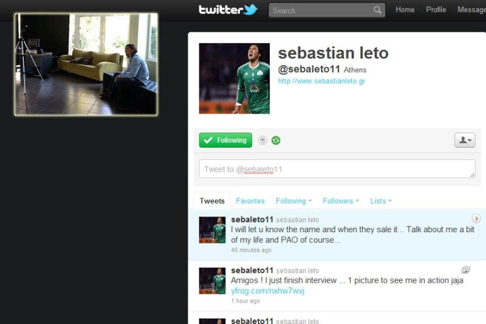 Ο Λέτο ανέβασε νέα φωτογραφία στο Twitter