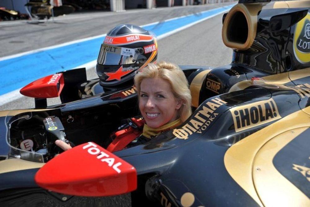 Μία γυναίκα στην F1