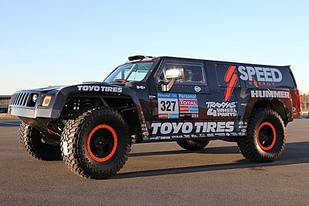Ο Αλ Ατίγια θα αγνωνιστεί με Hummer στο Dakar