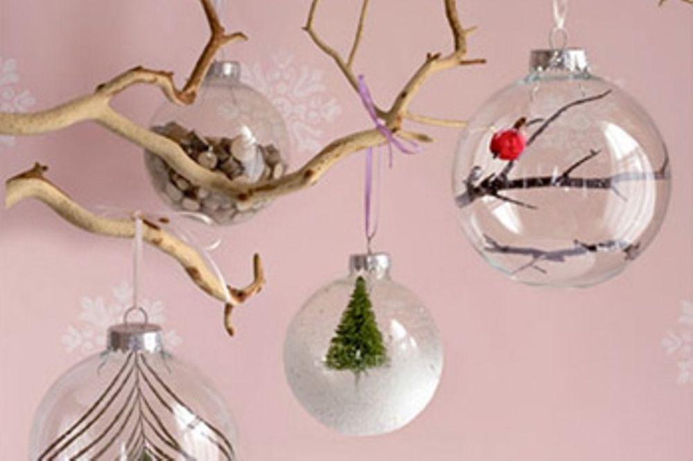 Φτιάξτε τις δικές σας χριστουγεννιάτικες μπάλες