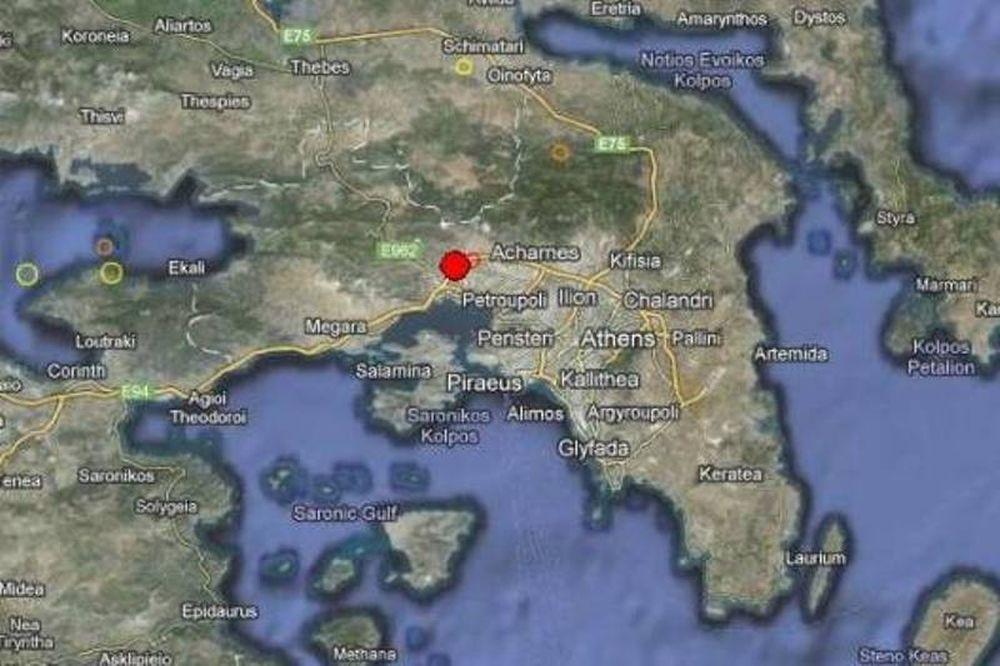Σεισμός αναστάτωσε τη Δυτική Αττική
