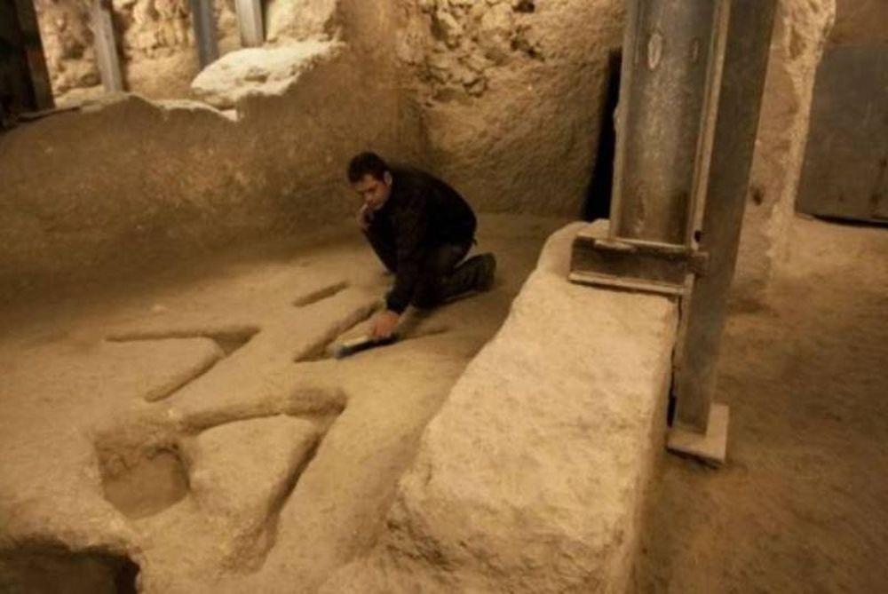 Ανεξήγητα σημάδια στην «υπόγεια» Ιερουσαλήμ