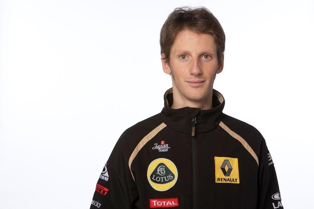 Ο Ρομάν Κρόσζιν στη Lotus F1