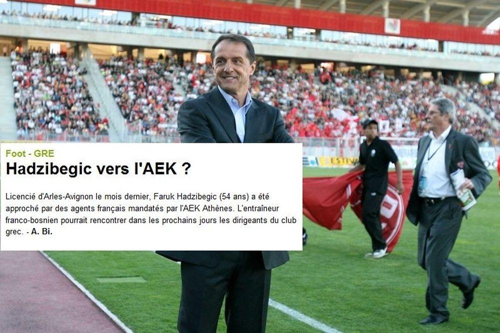 Στέλνουν Βόσνιο προπονητή στην ΑΕΚ οι Γάλλοι