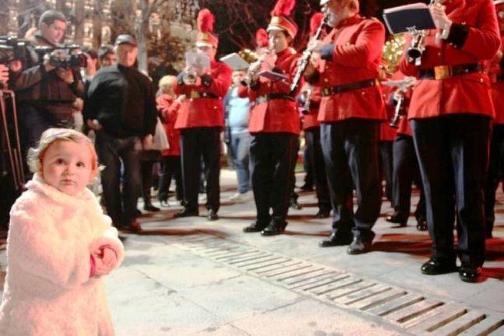 Έναρξη χριστουγεννιάτικων εκδηλώσεων στην Αθήνα