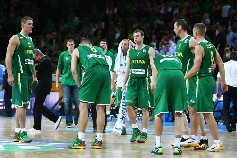 Επίθεση της Λιθουανίας σε FIBA