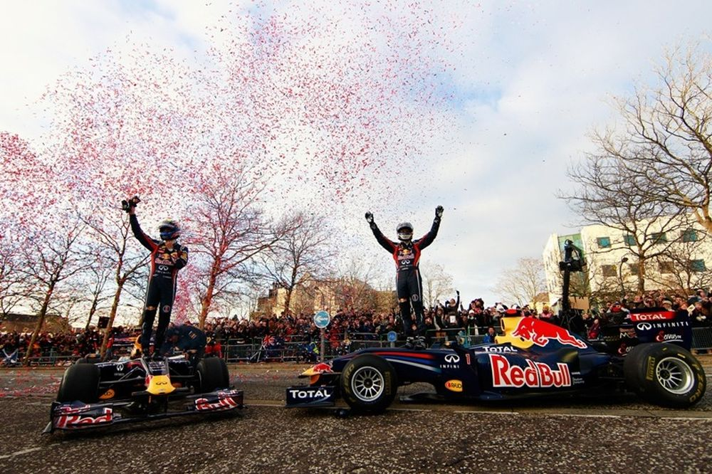 Η μεγάλη γιορτή της Red Bull