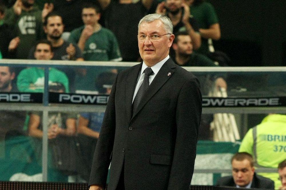 Καζλάουσκας: «Πολύ καλό μπάσκετ ο Παναθηναϊκός»
