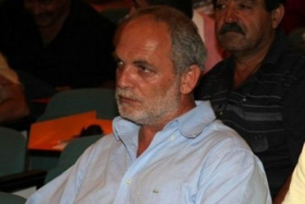 Ζαχαριουδάκης: «Δεν σέβονται τον κόπο μας»