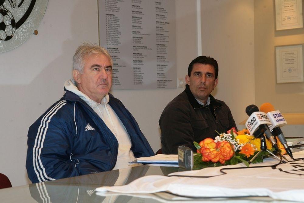 Κατσαβάκης: «Χρειαζόμαστε πέντε ποιοτικούς παίκτες»