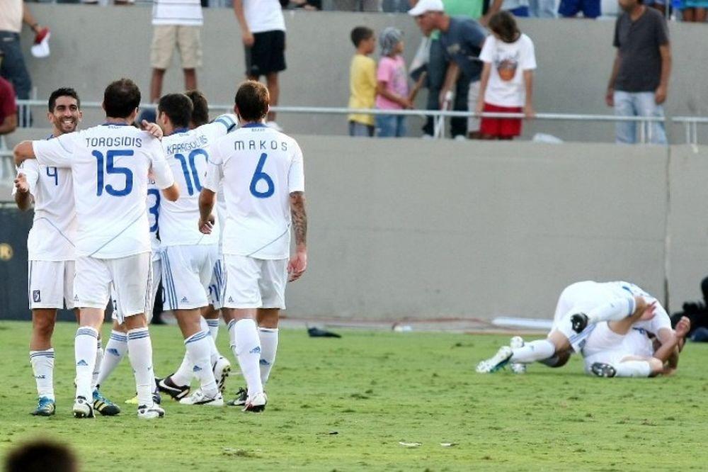 Με Βέλγιο η τελική πρόβα της Εθνικής πριν το Euro 2012