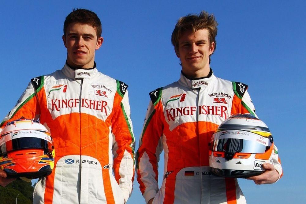 F1: Οι Ντι Ρέστα και Χαλκενμπέργκ στη Force India