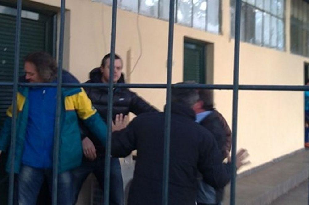 Με περιπολικό αποχώρησαν οι διαιτητές στην Κέρκυρα