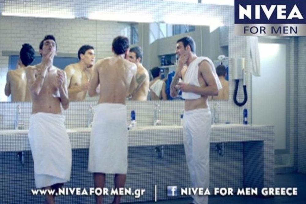 Η NIVEA FOR MEN παίζει... μπάλα!