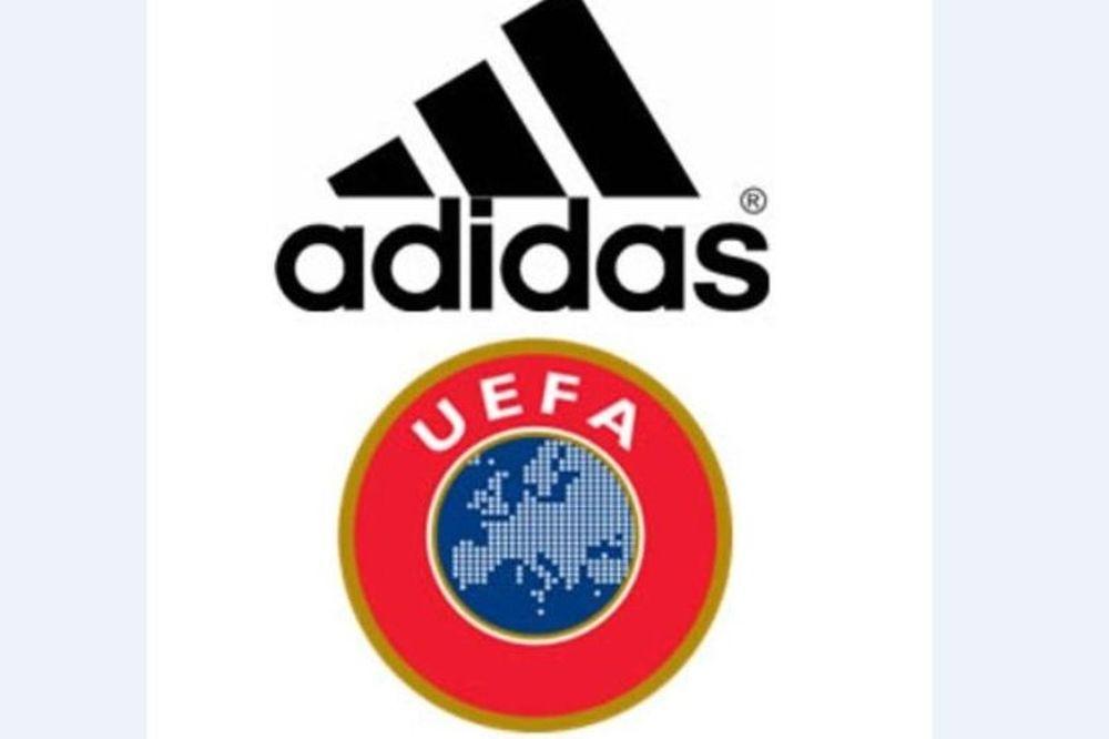 Eπέκταση συνεργασίας Adidas - UEFA