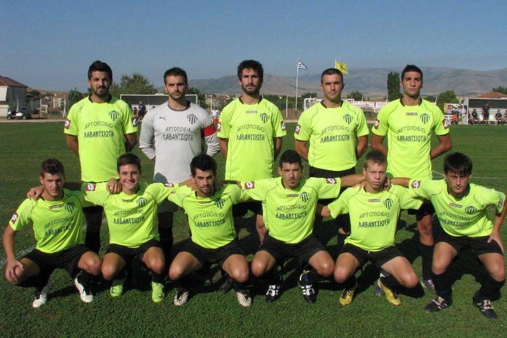 Εθνικός Βατερού-ΠΑΟΚ Αλεξάνδρειας 2-2