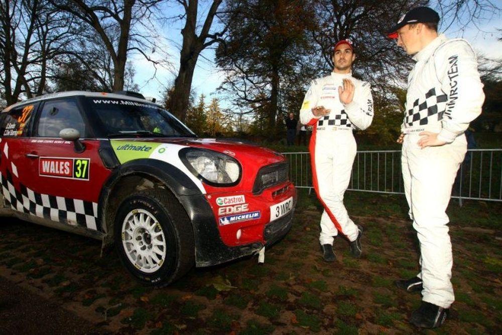 WRC: Ντάνι Σόρντο και Mini συνεχίζουν το 2012.