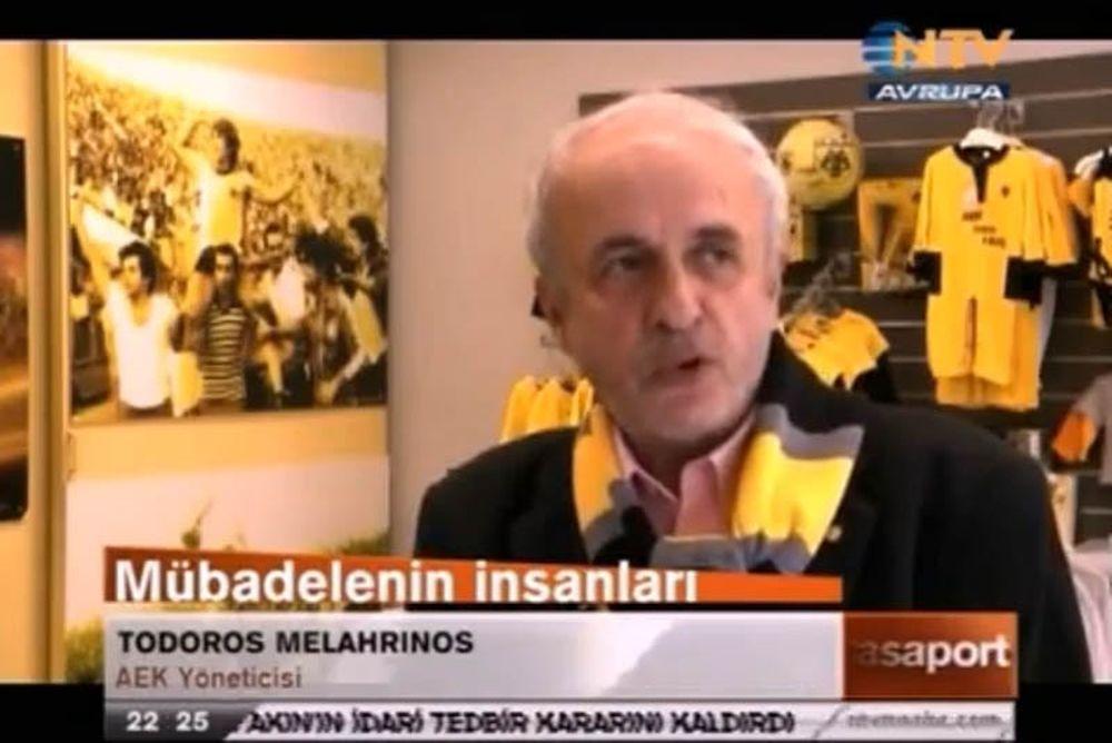 Η ΑΕΚ πρωταγωνιστεί σε αφιέρωμα τουρκικού καναλιού