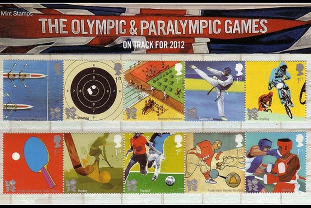 Tα γραμματόσημα των ΟΑ 2012
