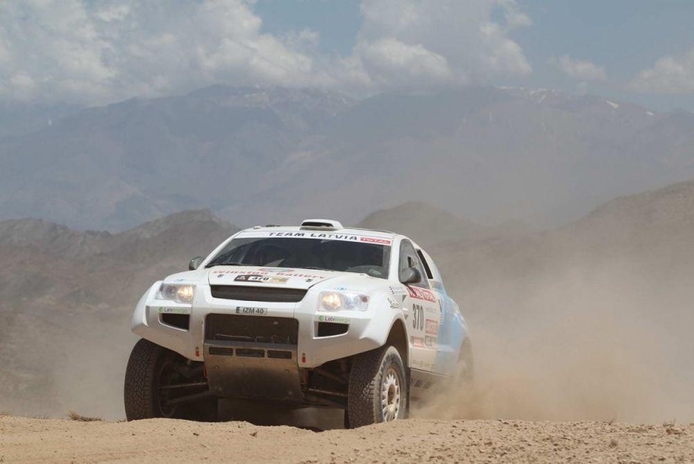 Dakar 2012 OSCar eO: Ηλεκτρικά όνειρα (photos+video)