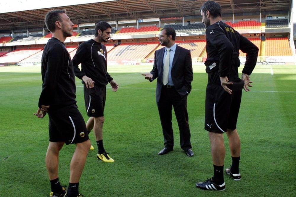 Υπομονή από τους παίκτες της ΑΕΚ ζήτησε ο Αδαμίδης
