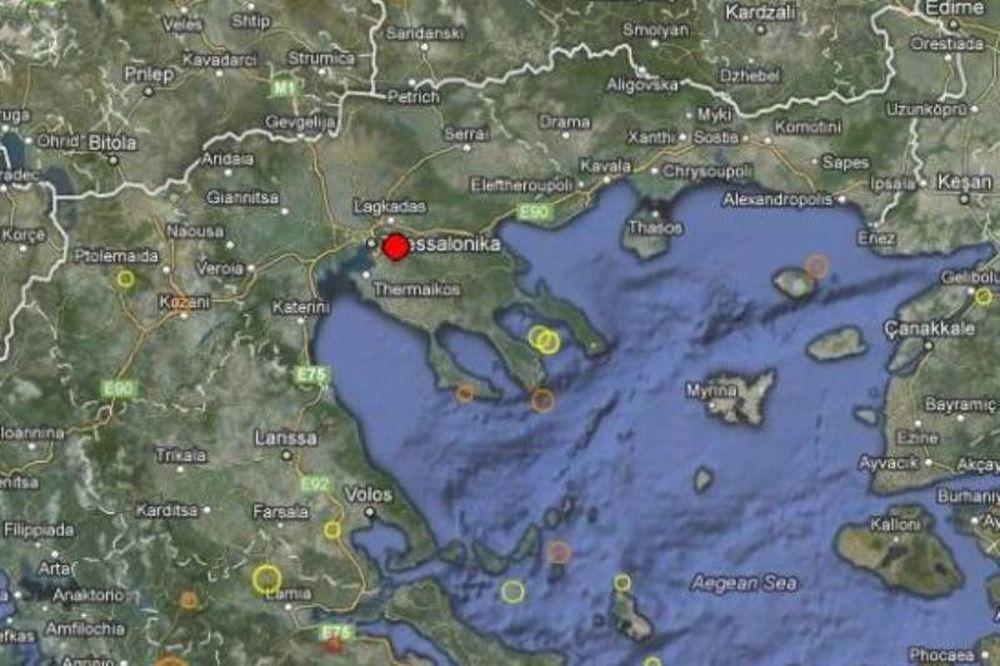 Σεισμός 3,1 Ρίχτερ στη Θεσσαλονίκη