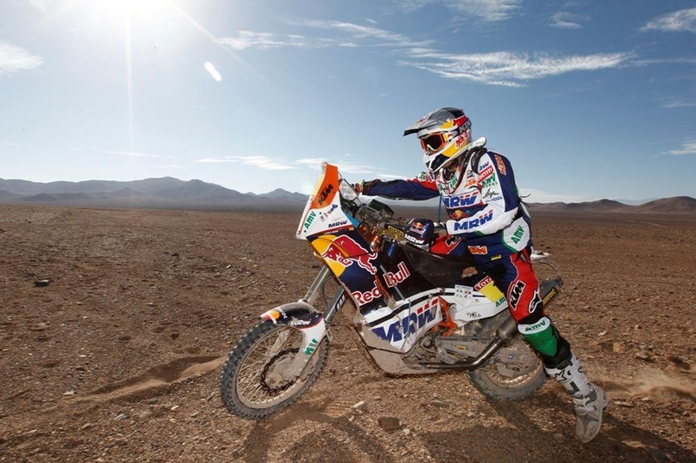 Ράλι Dakar 2012: Ντεπρέ και Πετερανσέλ στην κορυφή, άτυχος ο Αλ Ατίγια
