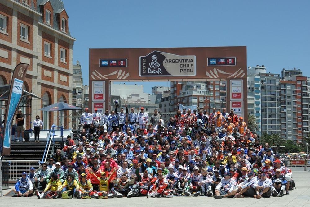 Ράλι Dakar 2012: Ο αγώνας σε φωτογραφίες