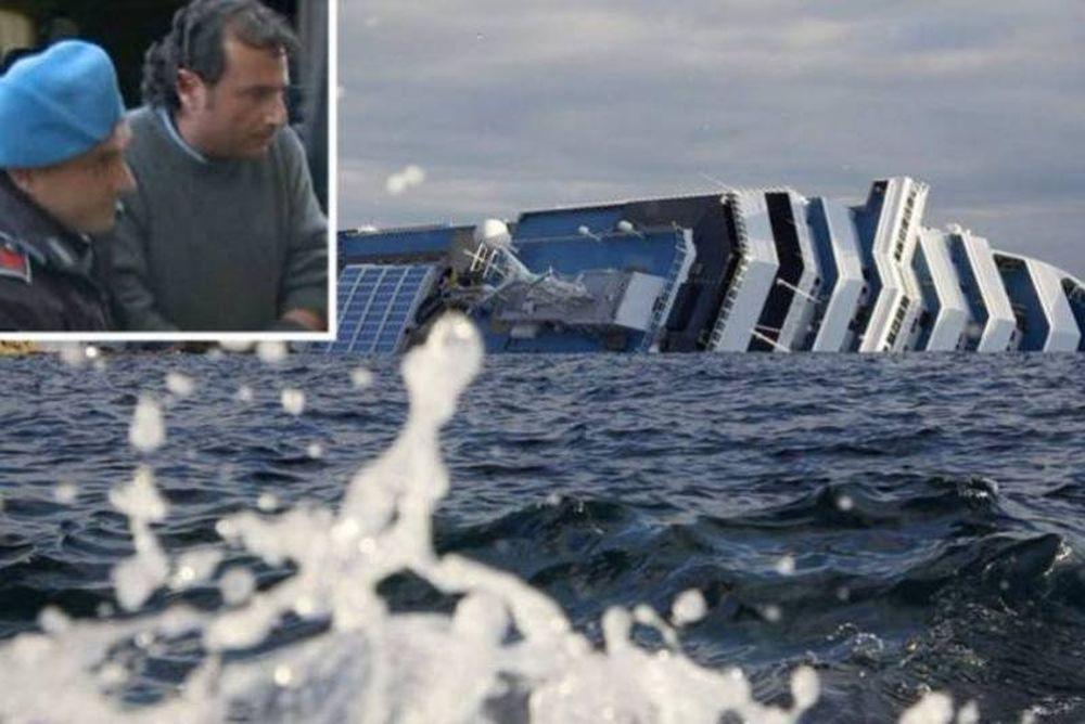 Ελεύθερος ο καπετάνιος του Costa Concordia