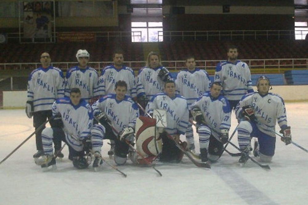 Νίκη του Ηρακλή στο χόκεϊ επί πάγου