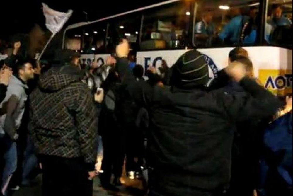 Η υποδοχή του Ατρομήτου στο Μαζαράκη (videos)